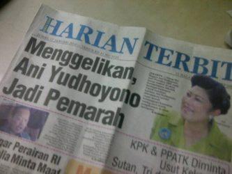 "Edisi terakhir Harian Terbit sebelum ""dijual"", Januari 2014 (repro: Nur Terbit)"