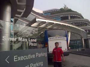 Sinar Mas Land Plaza di BSD City (foto : Nur Terbit)