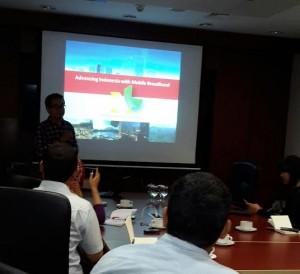 Rahmadi Mulyohartono, Head of Network Planning dari XL (foto: Nur Terbit)