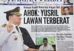 Koran sore HARIAN TERBIT edisi Selasa, 1 Maret 2016 versi manajemen baru (foto : Nur Terbit)