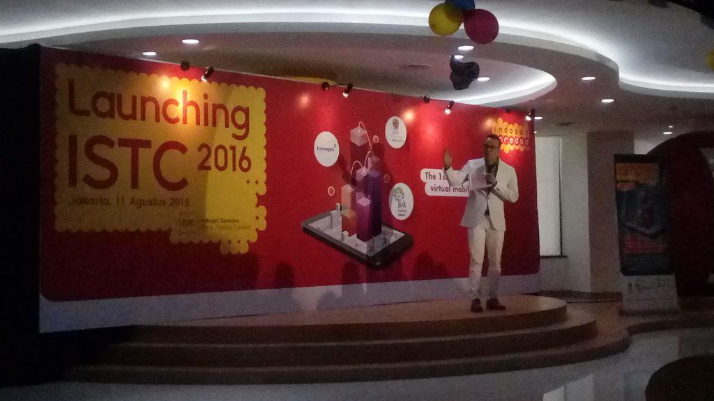 Peluncuran ISTC di gedung Indosat Ooredoo, Jakarta (foto: Nur Terbit)