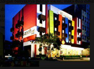 Amaris Hotel Jakarta. Sumber foto : amarishotel.com
