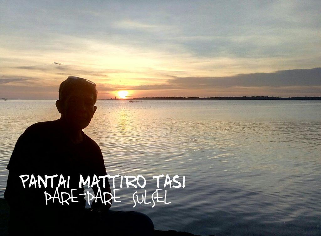 MATTIRO TASI, pantai tempat berburu sunset (foto Nur Terbit)