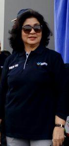 Menteri Kesehatan Nila Djuwita F Moeloek (foto Nur Terbit)