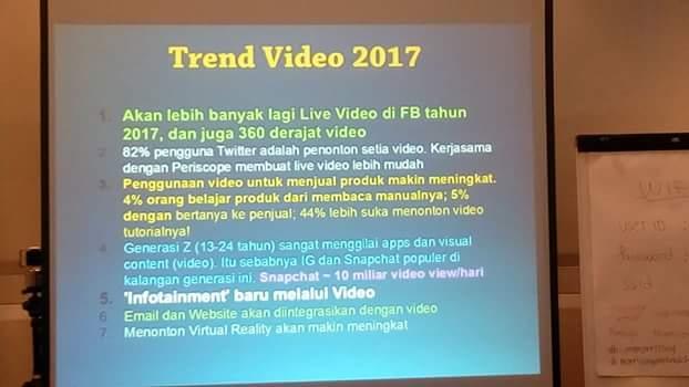 Trend VIDEO versi Teguh Sudarisman (foto Nur Terbit)