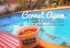 Cornet Ayam hasil demo masak bersama juru masak Fiva Food (foto : Nur Terbit)