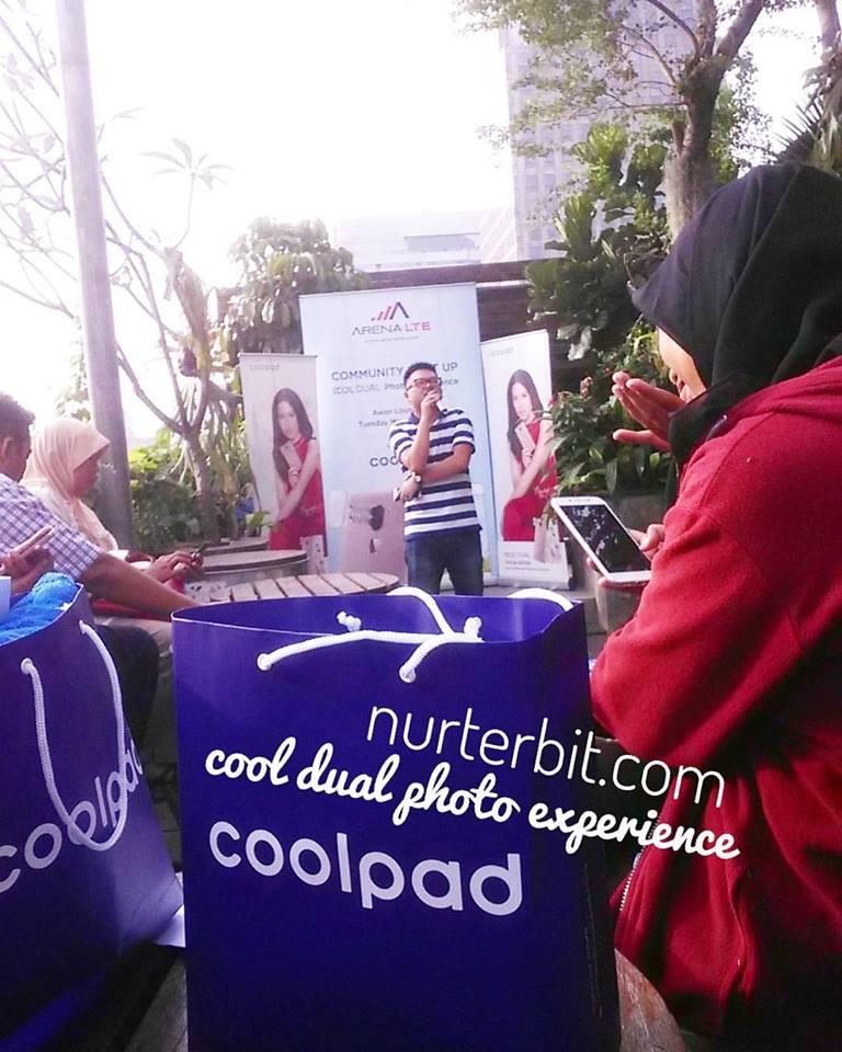 Launching Coolpad sekalian buka bersama (foto : Nur Terbit)