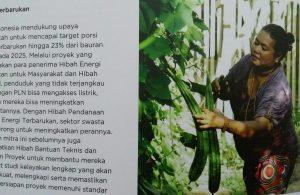 PROYEK KEMAKMURAN HIJAU (foto : Nur Terbit / Repro dari MCA Indonesia)