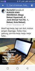 Laptop sebagai sarana bermedia sosial juga OK