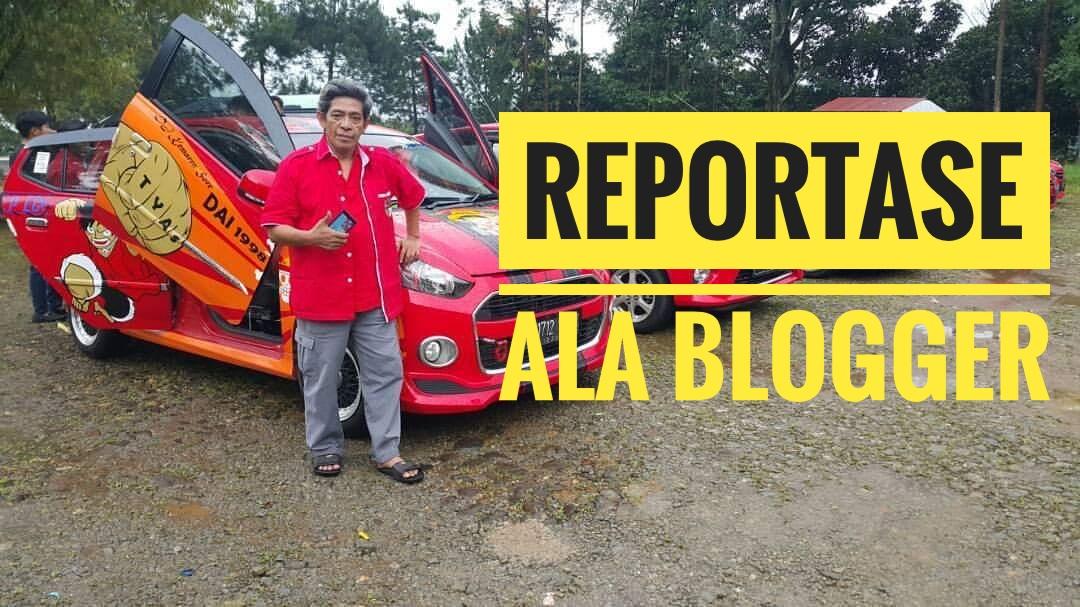 Sebagai anggota dan pengurus komunitas mobil merah (Red Car)